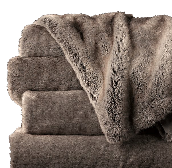 Restoration hardware faux fur